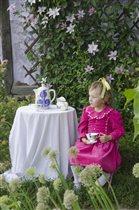 вечернее чаепитие на любимой даче