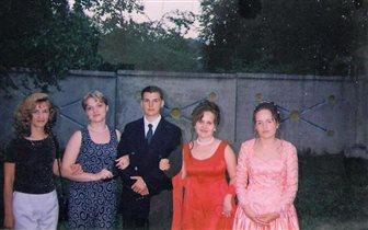 19  июня 1999 года, я - справа