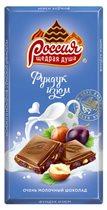 Молочный шоколад «'Россия' – щедрая душа!»: новые вкусы