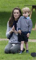 Принц Джордж и принцесса Шарлотта: фото с мамой и папой