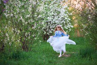 В вишневом саду