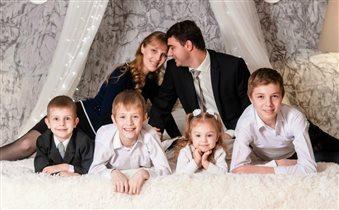 Самое весёлое время- когда в сборе вся семья!