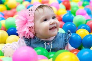 Наша маленькая принцесса счастлива!!!!!!!!