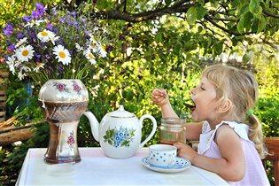Дачное чаепитие