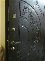 Установленная нами входная дверь