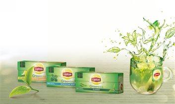 Новые вкусы Lipton Green Tea