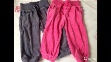 Велюровые штанишки 12-18 БУ 300 руб