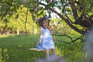 МЕГАуДАЧНОЕ время для любимых качелей в саду