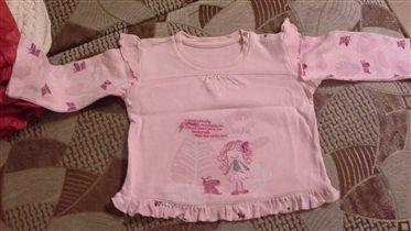 Пижама на девочку 2-3 года