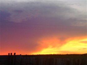Необычное небо над Стерлитамаком)