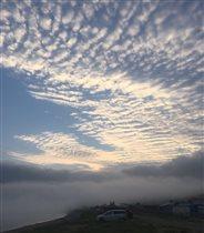 Небо, туман и море