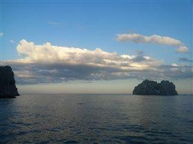 Небо над морем