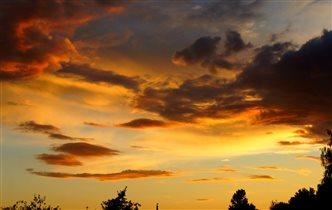 Золотые облока