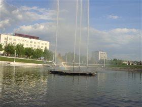 Фонтан в Кирове.