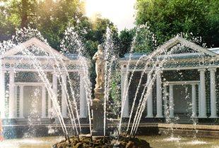 Петергоф, Нижний парк, фонтан Ева