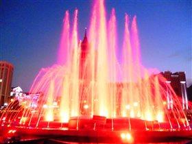 Музыкальный фонтан в Саранске