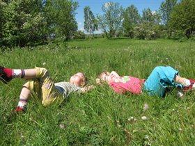 Мы на солнышке лежим...
