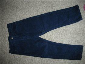 вельветовые брюки Mothercare, рост 104см,