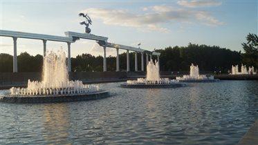Прекрасные фонтаны