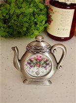 Stoney Greek TF003 Garden Flowers Teapot Frame Kit