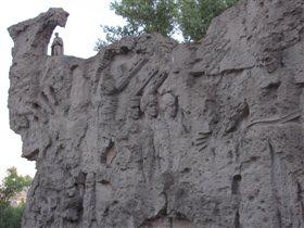 'стены-руины' Мамаев Курган г. Волгоград