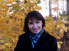 Осень в парке и я