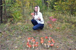 Осенне-грибной образ!
