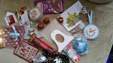 подарки с новогодней встречи в Москве