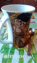 Моя любимая чашка. Не расстаюсь с не более 10 лет.