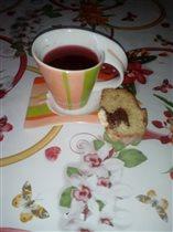 Любимая чашка моей дочки)))