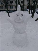 Снеговик-панк