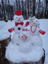 Снеговята для дочки