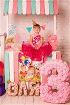 Наше яркое, розовое и зефирное день рождение!