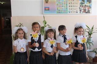 А мы первый класс пришли покорять!