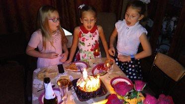 День рождения у моей подруги 8 лет