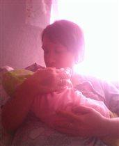 Сухарева Татьяна родила дочь Анну