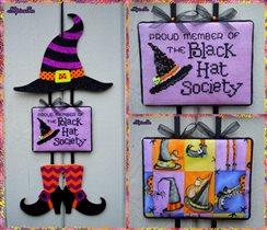 Black Hatter - Sue Hillis Designs