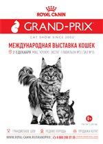 В Москве стартует юбилейная выставка кошек «Гран-при Royal Canin»