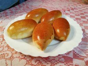 Духовые пирожки с картофелем