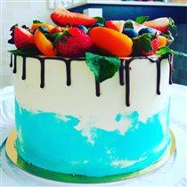 Торт вкусняшка - ягодное счастье