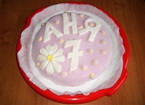 Торт для внучки
