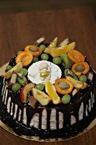торт на 18ый день рождения!