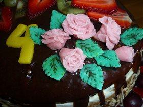 'Правильный торт' сказали дети уплетая за обе щеки