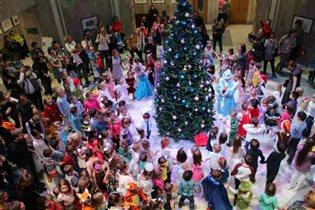 Большой Новогодний фестиваль в  Российской государственной детской библиотеке