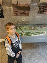 В музее археологии Москвы