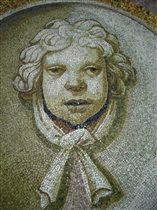 Мозаика внутри купола базилики св.Петра, Ватикан