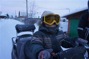 Покоритель снежных просторов!