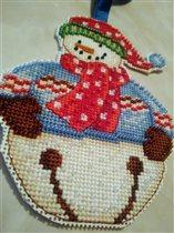 Снеговик из Австралии от Тани- Tatkis