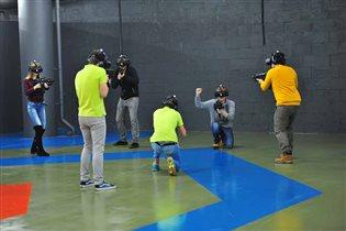 Командная игра в виртуальной реальности «VR-Полигон» в ТЦ «Авиапарк»