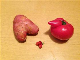 Картофельное сердце и не только...